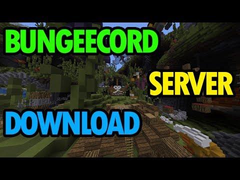 Premade Bungeecord Server DOWNLOAD YouTube - Minecraft bungeecord server erstellen