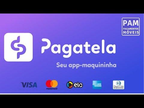 APP Pagatela Passa Master, Visa, Elo, Amex e Diners sem Maquininha #PAM