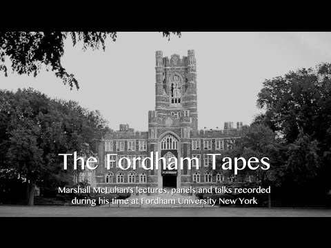 Marshall McLuhan 1967 The Technological Unconscious - Fordham University Taps #1