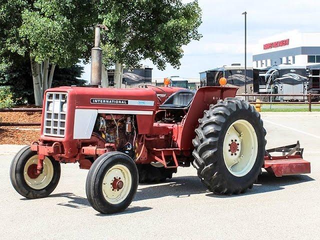 International Harvester 574 Farm Tractor | International