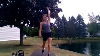 40-min Advanced Kettlebell Workout with Jenny