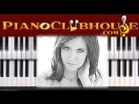 He Knows My Name Francesca Battistelli Easy Piano Tutorial