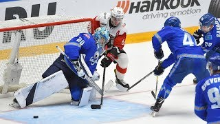 """Боевой хоккей в Астане. Как """"Авангард"""" поддерживали в Казахстане"""