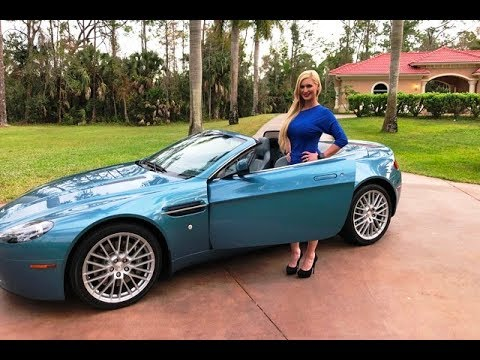 2009 Aston Martin Vantage Test Drive Review W Maryann For Sale By Autohaus Of Naples Youtube