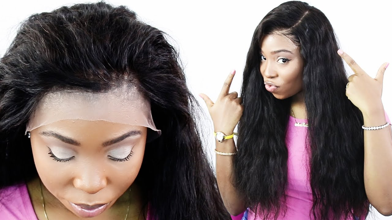 How to install a full lace wig without glue
