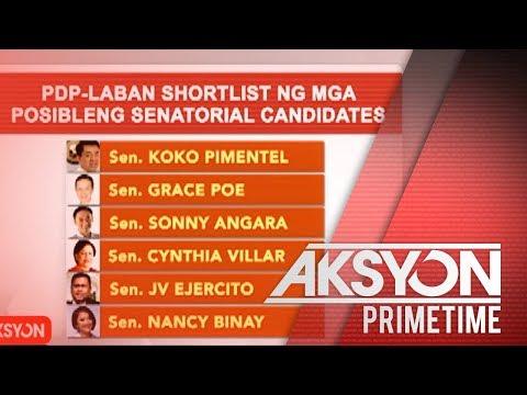 PDP-Laban Senatorial Shortlist