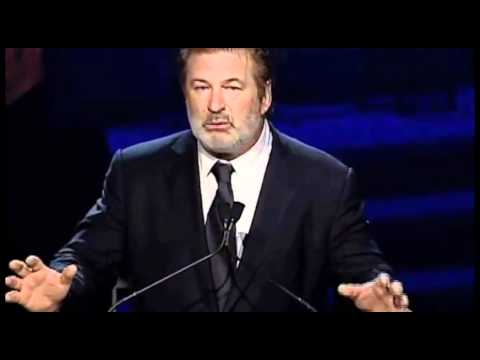 Alec Baldwin introduces Al Pacino, recipient of the Lee Strasberg Artistic Achievement Award
