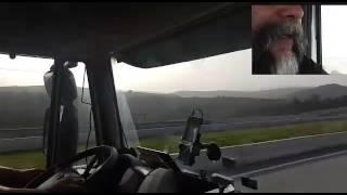 Caminhoneiro brasileiro na Europa