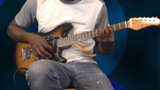 """Bee Gees """"More than a Woman"""" Rhythm guitar Cover"""