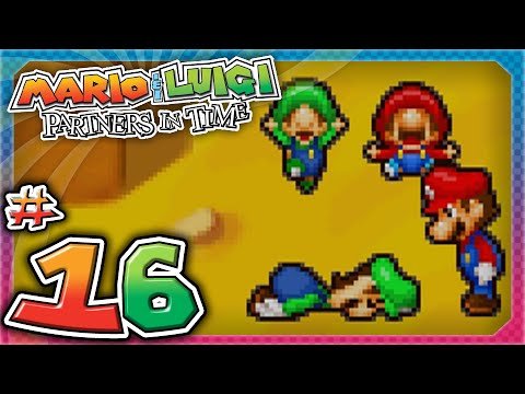Mario and Luigi: Partners In Time - Part 16: Gritzy Desert!