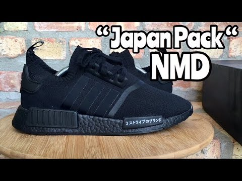"7cbabb30234 adidas NMD ""Japan Pack"" ""Triple Black"" review - YouTube"