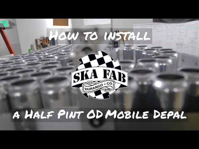 How to Install a Half Pint OD Mobile Depalletizer