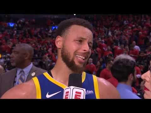 Stephen Curry Postgame Interview - Game 5   Warriors vs Raptors   2019 NBA Finals