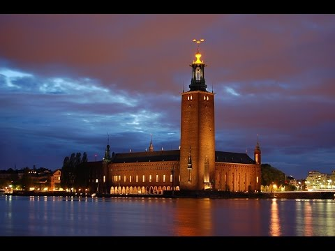 Stockholm city Hall , Sweden (in Ultra 4K)