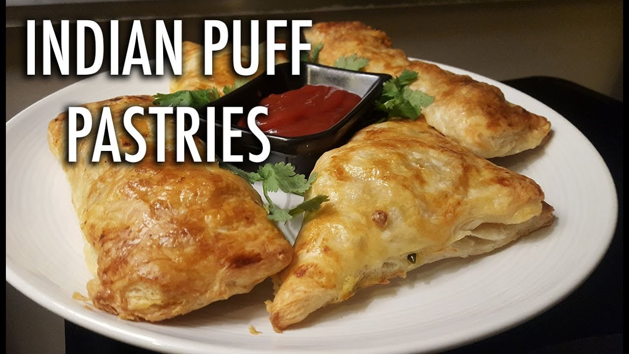 Delicious Indian Puff Pastries Veg And Non Veg Recipes Cooking With Anadi