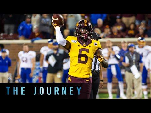 Meet Minnesota WR Tyler Johnson | B1G Football | The Journey
