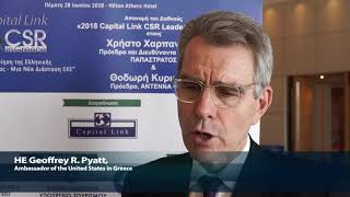 2018 8th Annual Capital Link CSR Forum - Mr. Pyatt Interview