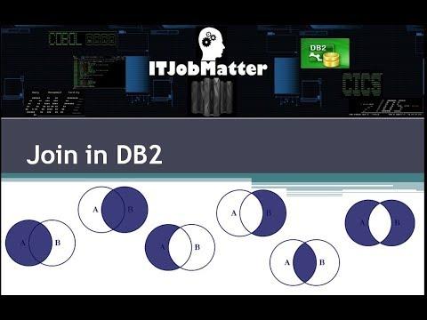 Inner, Outer, Right, Left, Full, Union, Union All, Cross Join in DB2 - Tutorial - Job Training