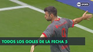 Todos los goles de la Fecha 5 - Superliga Argentina 2018/2019