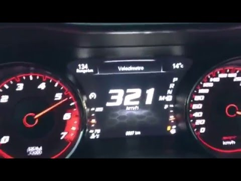 Dodge Charger Hellcat 2015 Top Speed On The Road Youtube