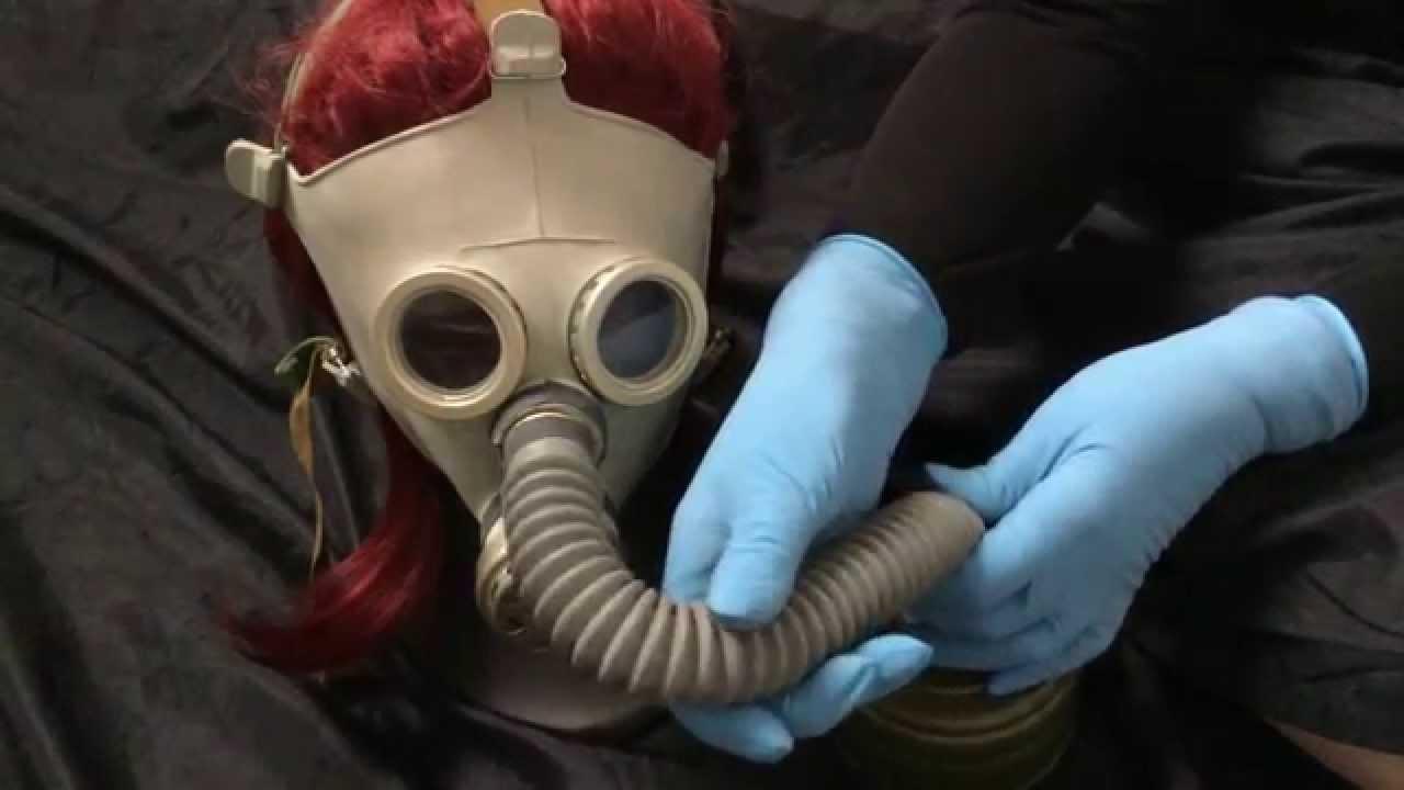 masks gloves and fetish Latex