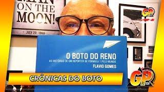 As histórias de Flavio Gomes na F1 em um livro: 'O Boto do Reno' | GP às 10
