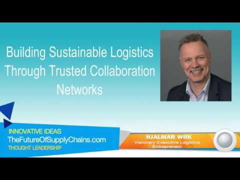Building Sustainable Logistics Through Trusted Collaboration Networks