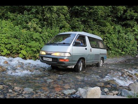 Тест - драйв Toyota Lite Ace (Сочи, Альпийские луга)