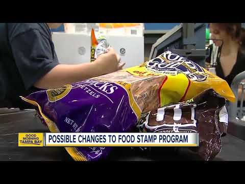 Possible changes to food stamp program