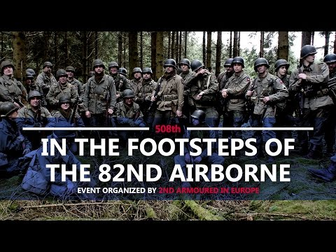 In the footsteps on the 82nd Airborne - 35th Edition 2017 - Battle of the Bulge