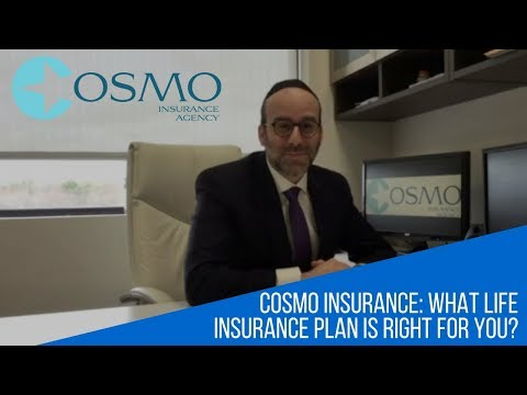 Cosmo Insurance Agency: What Life Insurance Plan is Right For You?