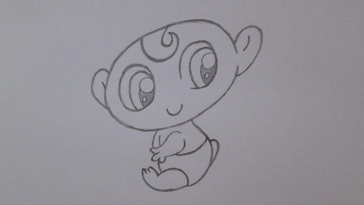 Como Desenhar Um Bebe Youtube