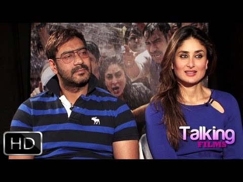 Ajay Devgn-Kareena Kapoor's Exclusive On Satyagraha