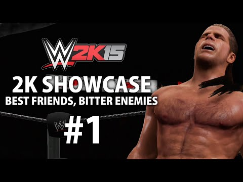 WWE 2K15 (Xbox One) 2K Showcase - Best Friends, Bitter Enemies Gameplay Walkthrough Part 1