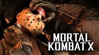 Mortal Kombat X -  Бой с Девушкой! Даша vs Брейн