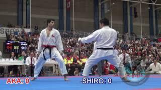 Silva Julio CHI vs Ueda Daisuke JPN - Quarter Final