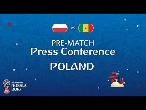 FIFA World Cup™ 2018: Poland - Senegal: Poland - Pre-Match Press Conference