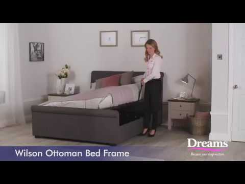 Dreams Wilson Ottoman Bed Frame Youtube
