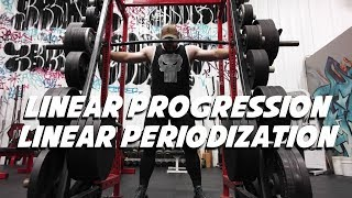 Difference Between Linear Progression and Linear Periodization
