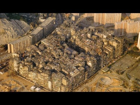 THE LAWLESS CITY IN HONG KONG - KOWLOON WALLED CITY