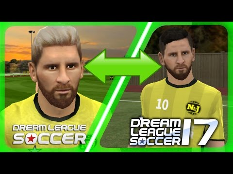 Dream League Soccer Faces : Dream League Soccer 2016 VS Dream League Soccer 2017