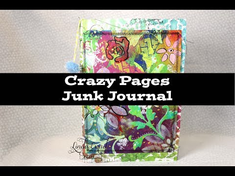 Crazy Pages Junk Journal