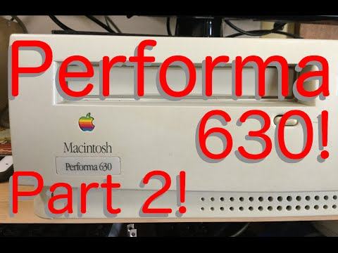 The Performa 630! Part 2: Installing System 7.5 on a Compact Flash Card This Time!