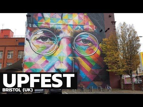 Upfest à Bristol, le festival de street art le plus grand d'Europe