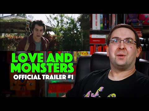 REACTION! Love and Monsters Trailer #1 – Dylan O'Brien Movie 2020