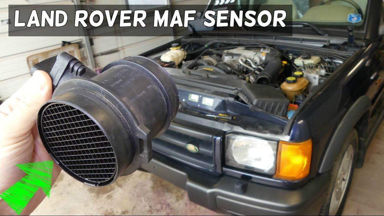 land rover discovery maf mass air flow sensor removal