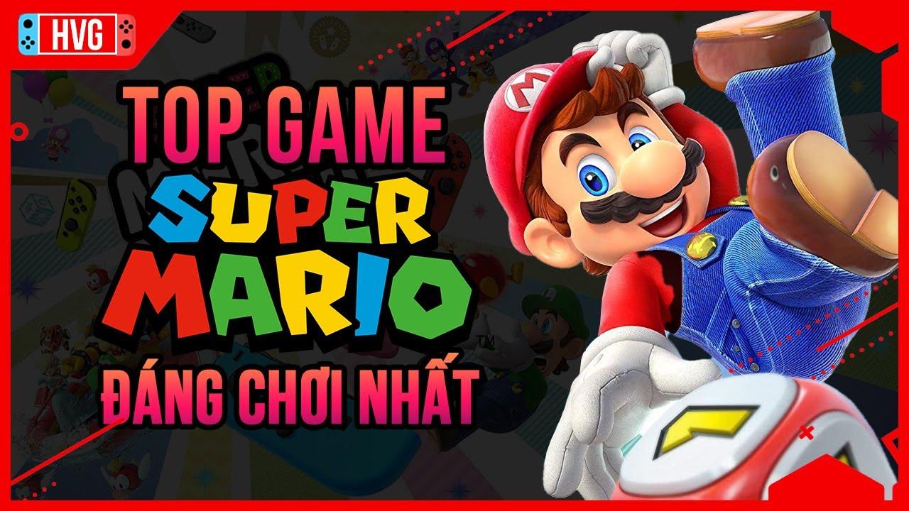 Top 10 Game Super Mario Hay Nhất Trên Nintendo Switch   Học Viện Gaming