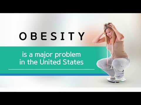Obesity is a major problem in the United States