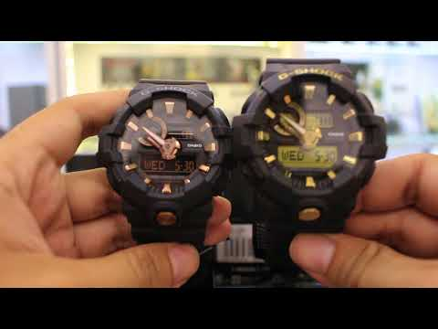 G-SHOCK  ĐẬP HỘP 4 MODEL G-SHOCK THUỘC GOLD ACCENTS COLLECTION RELEASED  5 2018 c30946cf1d4