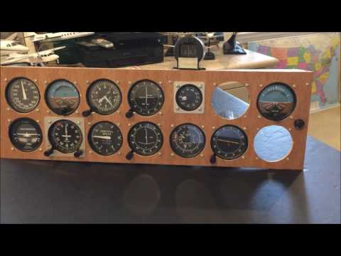 Home Cockpit - Simkits Instruments Vs. Saitek Instrument Panels for Flight Simulator X